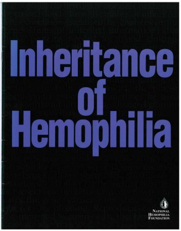 Available online - National Hemophilia Foundation