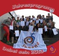 Jahresprogramm 2013 - Evangelische Jugend Darmstadt Land