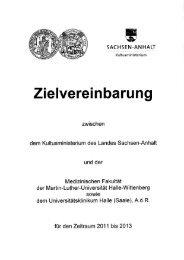 Zielvereinbarung - WZW Wissenschaftszentrum Sachsen-Anhalt ...