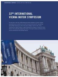 The 32 nd International Vienna Motor Symposium - Österreichischer ...