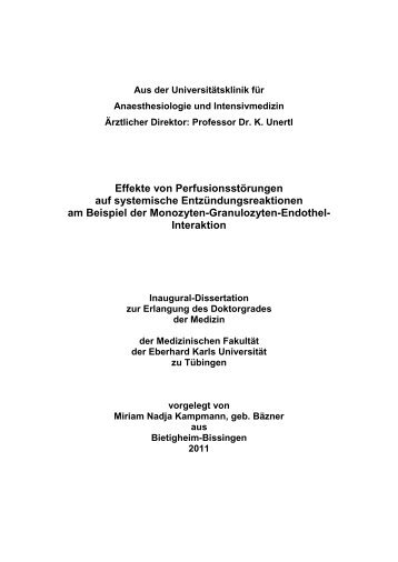 Interaktion - TOBIAS-lib - Universität Tübingen