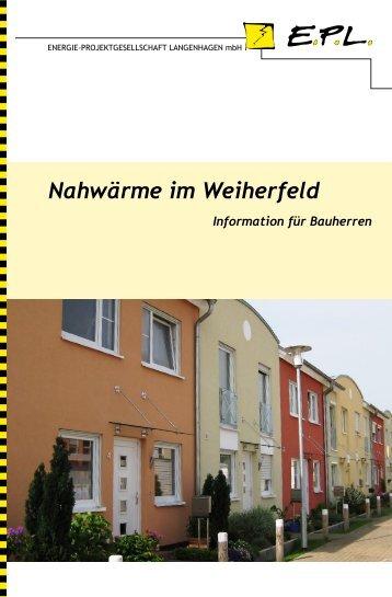 Nahwärme im Weiherfeld - Energie-Projektgesellschaft ...
