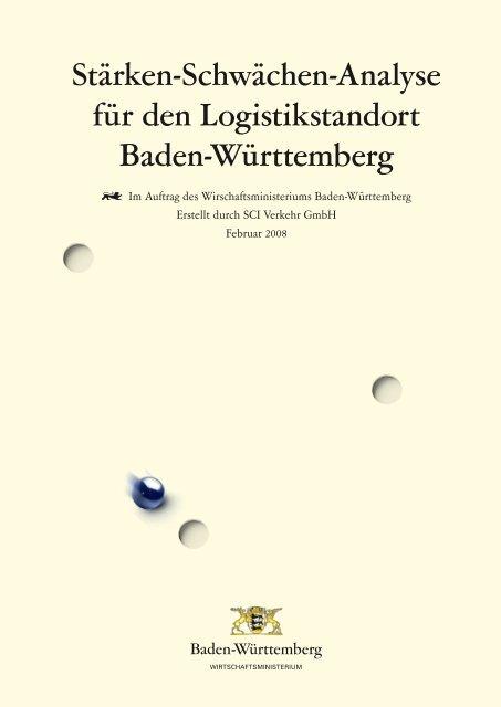 Stärken-Schwächen-Analyse für den Logistikstandort Baden ...
