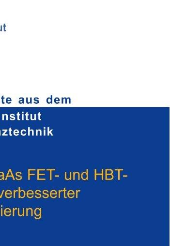 Full version (PDF) - Ferdinand-Braun-Institut
