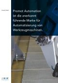 Promot Automation Pro Motion of Machine Tools - Seite 4