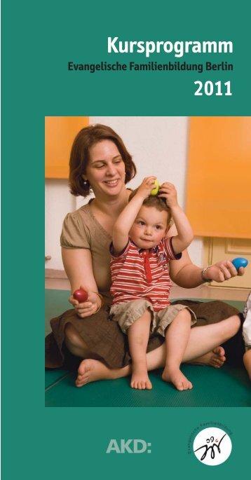 • FB 2011 Satz - Evangelische Familienbildung im Kirchenkreis ...