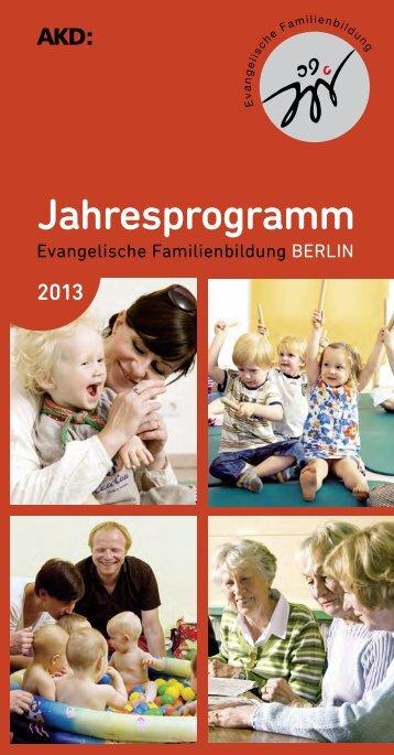Kursprogramm - Evangelische Familienbildung im Kirchenkreis ...