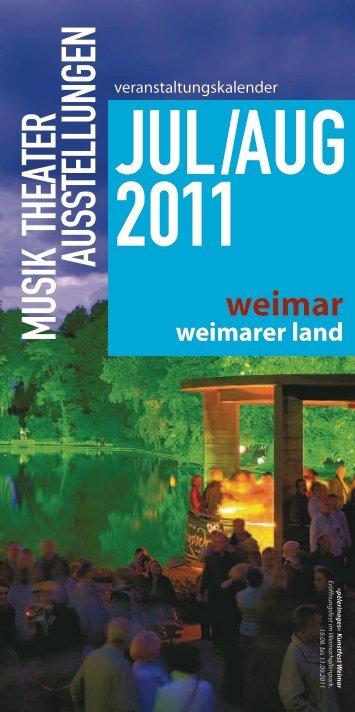 Tourist-Information Weimar Unser Tipp - Weimarer Land