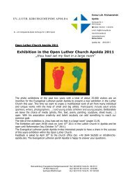 Exhibition in the Open Luther Church Apolda 2011 - Evang.-Luth ...