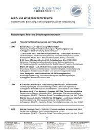 Rutschungen, Fels - witt & partner geoprojekt GmbH