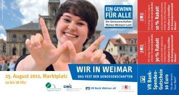 WIR IN WEIMAR - GWG Weimar