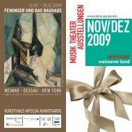 weimar weimarer land - MAGAZIN JENA + Saaleland