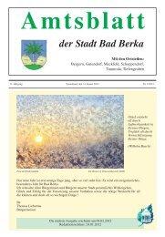 Ausgabe 1/2012 - Kurstadt Bad Berka