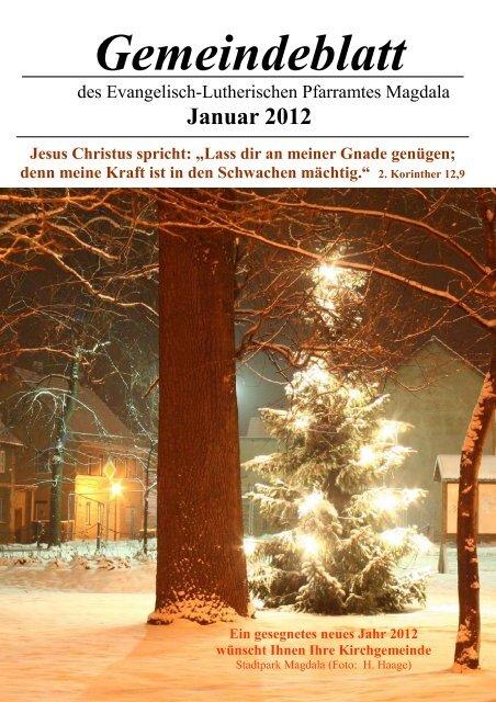 01/12 - Kirchspiel Magdala/Bucha