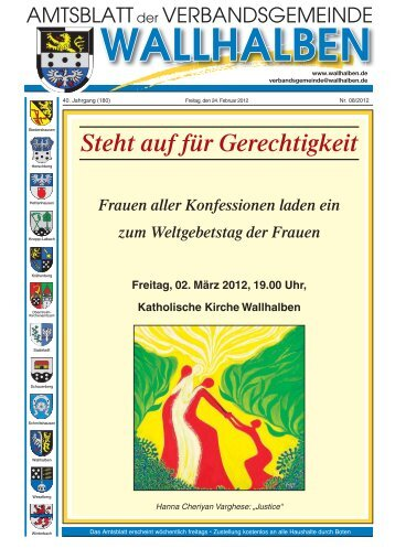 Steht auf für Gerechtigkeit - Verbandsgemeinde Wallhalben