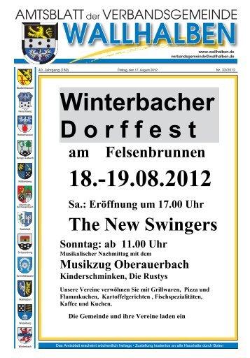 Winterbacher - Verbandsgemeinde Wallhalben