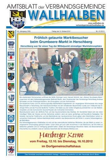 Harsberger Kerwe - Verbandsgemeinde Wallhalben