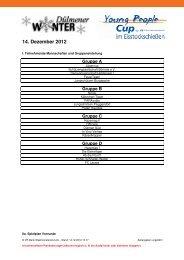 14. Dezember 2012 - VR-Bank Westmünsterland eG