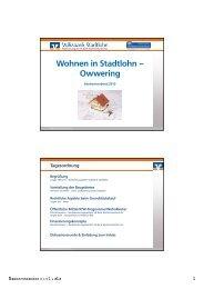 Wohnen in Stadtlohn – Owwering - VR-Bank Westmünsterland eG