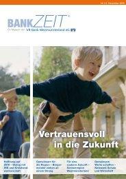 Nr. 8 ZEIT - VR-Bank Westmünsterland eG