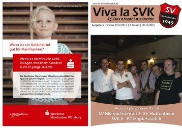 p' 1 — 1 - Vivia Ia sv < - SV Kleinochsenfurt
