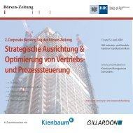 Strategische Ausrichtung & Optimierung von Vertriebs - WM Seminare