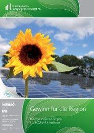 gehts zum Prospekt! (PDF) - Norddeutschen Energiegemeinschaft eG