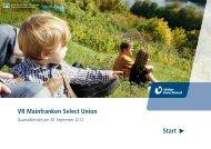 aktueller Quartalsbericht - VR-Bank Gerolzhofen eG
