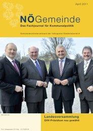 3) NÖ Gemeinde April 2011 - Gemeindevertreterverband der VP ...