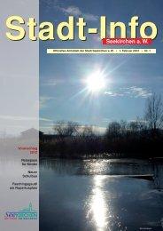 Stadt-Info 1. Februar 2012 Nr. 1 - Seekirchen am Wallersee
