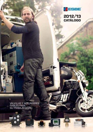 Catálogo ESBE 2012/13 - Válvulas y actuadores