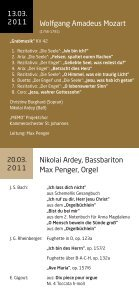1. Zyklus (März/April 2011) - Kirchenchor Pfaffenhofen - Seite 2