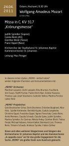 1. Zyklus (März/April 2011) - Kirchenchor Pfaffenhofen - Seite 6