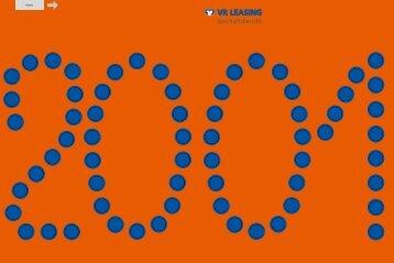 VR LEASING Geschäftsbericht 2001 - Teil 1 von 3 - VR-Leasing AG