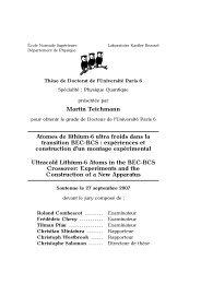 Martin Teichmann Atomes de lithium-6 ultra froids dans la ... - TEL