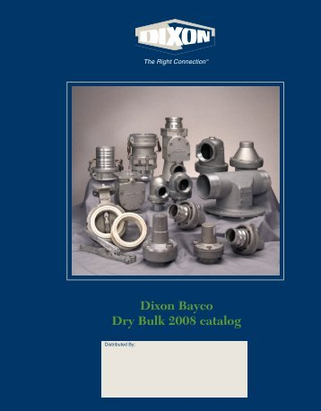 Dixon Bayco Dry Bulk 2008 catalog - Dixon Group Canada Limited