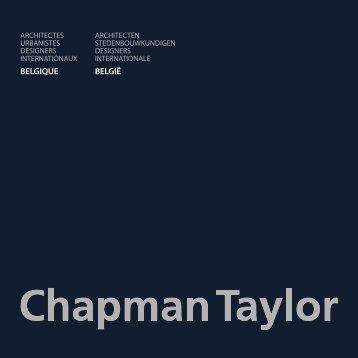 BELGIQUE BELGIË - Chapman Taylor