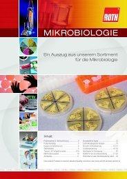 MikrobiologieAuszug aus dem Sortiment für die ... - Carl Roth
