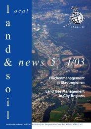 I/03 - European Land and Soil Alliance (ELSA)