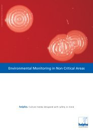 Environmental Monitoring in Non Critical Areas - heipha GmbH ...