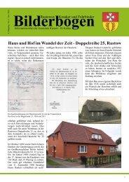 Haus und Hof im Wandel der Zeit - Doppelreihe 25, Rastow