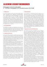 AGBs download - Schürz & Lavicka