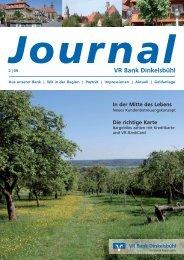 Ausgabe 02/09 Juli 2009 - VR Bank Dinkelsbühl eG