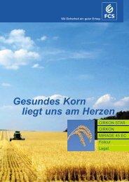 Gesundes Korn liegt uns am Herzen - Feinchemie Schwebda GmbH