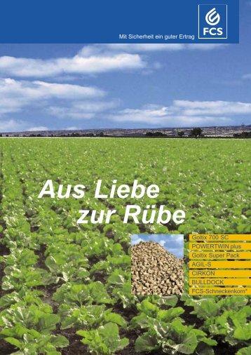 Aus Liebe zur Rübe - Feinchemie Schwebda GmbH