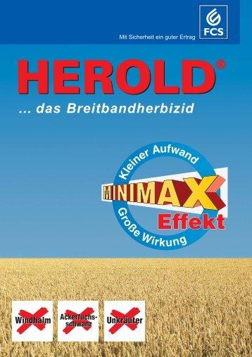 … das Breitbandherbizid - Feinchemie Schwebda GmbH