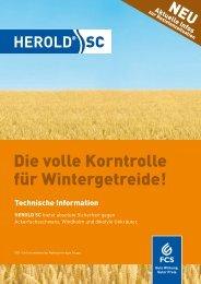 Die volle Korntrolle für Wintergetreide! - Feinchemie Schwebda GmbH