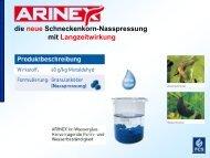 Produkt-Präsentation ARINEX