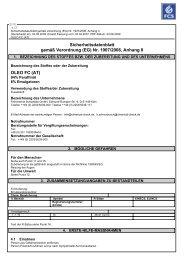 Sicherheitsdatenblatt - Feinchemie Schwebda GmbH