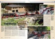 Der Brocken-Bahnhof der HSB - Horsts Gartenbahn Hamm